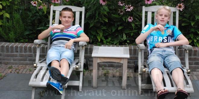 Thomas Jansen en Daniël Apperloo zijn de 'Pieter van den Hoogenband's' in de dop