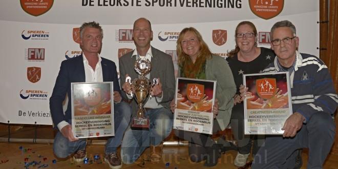 HBR wint verkiezing leukste sportvereniging van Nederland