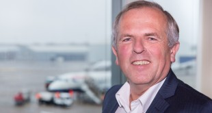 Ron Louwerse is sinds begin dit jaar directeur van Rotterdam The Hague Airport.